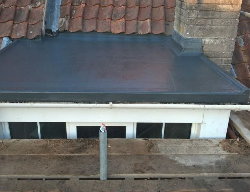 GRP Flat Roofing Extension